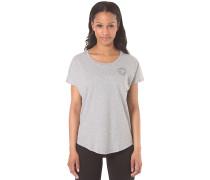 Core Plus CP Scoop Neck - T-Shirt für Damen - Grau