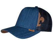 HFT Linen Trucker Cap - Blau