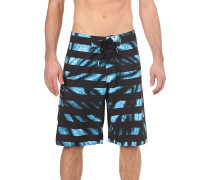 Tie Dye Stripes - Boardshorts - Blau