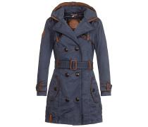 One For All III - Mantel für Damen - Blau