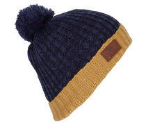 Pompom - Mütze für Jungs - Blau