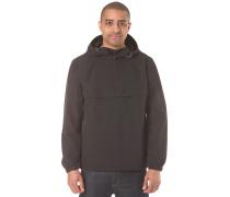 Hooded Windbreaker - Jacke für Herren - Schwarz
