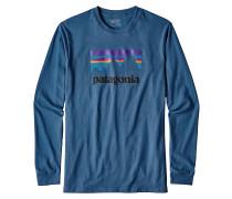 Shop Sticker - Langarmshirt für Herren - Blau