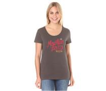 BywayM. - T-Shirt für Damen - Braun