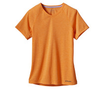 S/S Nine Trails - T-Shirt für Damen - Orange