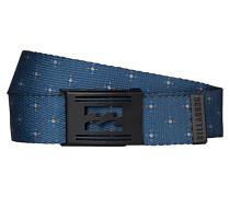 Logistik Print - Gürtel für Herren - Blau