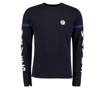 Statement - Langarmshirt für Herren - Blau