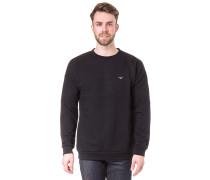 Dropshoulder - Sweatshirt - Schwarz