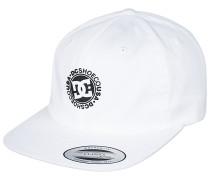 Core Twill - Snapback Cap - Weiß