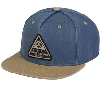 X Wash Snapback Cap - Blau