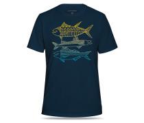 Catch - T-Shirt für Herren - Blau