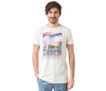 Print - T-Shirt für Herren - Grau