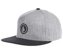 Quarter Twill - Snapback Cap für Herren - Grau