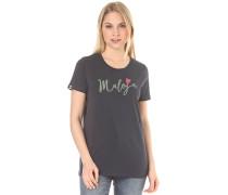 HufeisenkleeM. - T-Shirt für Damen - Blau