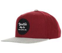 Wheeler Snapback Cap - Rot