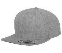 Classic Snapback Cap - Grau
