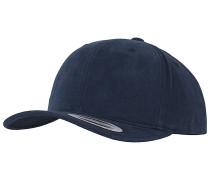 Brushed Cotton Twill Mid-ProfileCap Blau