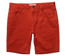 Outsider 5 Pockets - Chino Shorts für Herren - Rot