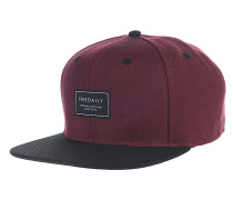 Daily Club Snapback Cap - Rot