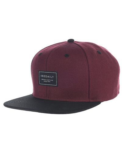 Daily Club Snapback Cap - Rot