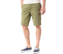 Clwr - Chino Shorts für Herren - Grün