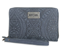 Mayan Rfid O/S Lth Wlt - Geldbeutel für Damen - Blau