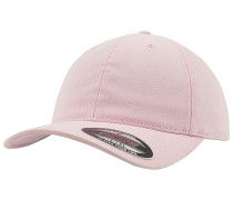 Garment Washed Cotton Dad Cap - Pink