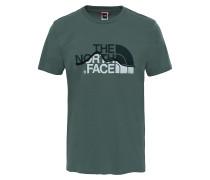 Mountain Line - T-Shirt für Herren - Grün