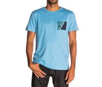 Break Brush - T-Shirt für Herren - Blau
