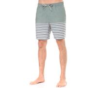 Breezy Stripe - Boardshorts für Herren - Grün