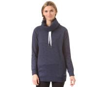 Feather Funnelneck - Sweatshirt für Damen - Blau