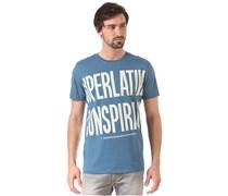 Biggest Message - T-Shirt für Herren - Blau