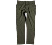 Worker Straight - Stoffhose für Herren - Grün