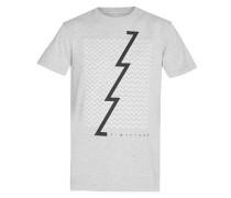 Zoned - T-Shirt für Herren - Grau