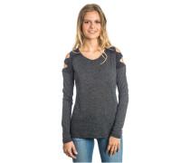 Quillota - Langarmshirt für Damen - Schwarz