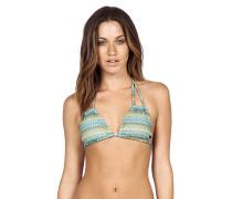 Wildly Bare Tri - Bikini Oberteil für Damen - Blau