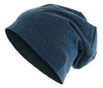 Heather Jersey Mütze - Blau