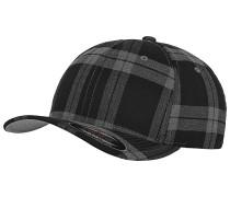 Tartan Plaid Cap - Schwarz
