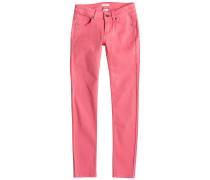 Golden Leaves - Jeans für Mädchen - Pink