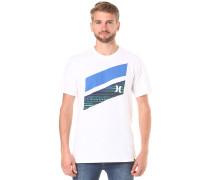 Icon Slash Fill - T-Shirt für Herren - Weiß