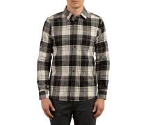 Caden L/S - Hemd für Herren - Schwarz