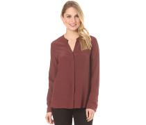 V Blouse Viscose - Bluse für Damen - Rot