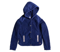 Oats - Kapuzenjacke für Mädchen - Blau