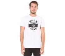 World Focus - T-Shirt für Herren - Weiß