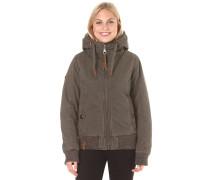 Rülpsen, Schmatzen, Furzen II - Jacke für Damen - Beige