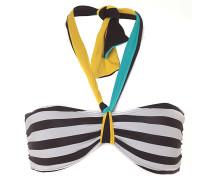 Reality Bites Bandeau - Bikini Oberteil für Damen - Mehrfarbig