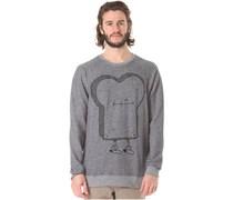 Stitched Toast 2 - Sweatshirt für Herren - Blau