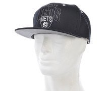 BGW Brooklyn NetsSnapback Cap Schwarz