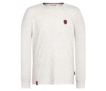 Italienischer Hengst Langen - Langarmshirt für Herren - Grau