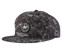 Tropik Snapback Cap - Schwarz
